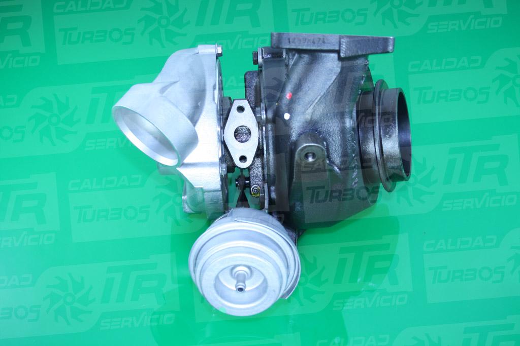 Turbo GARRETT 715568- (imagen 2)