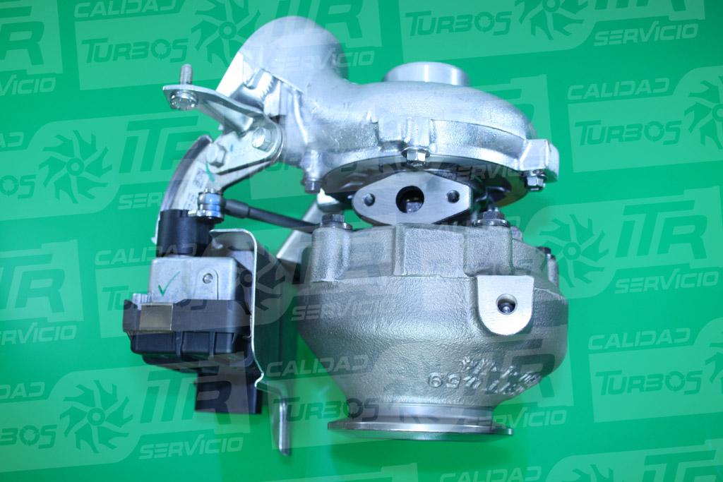 Turbo GARRETT 741785- (imagen 2)