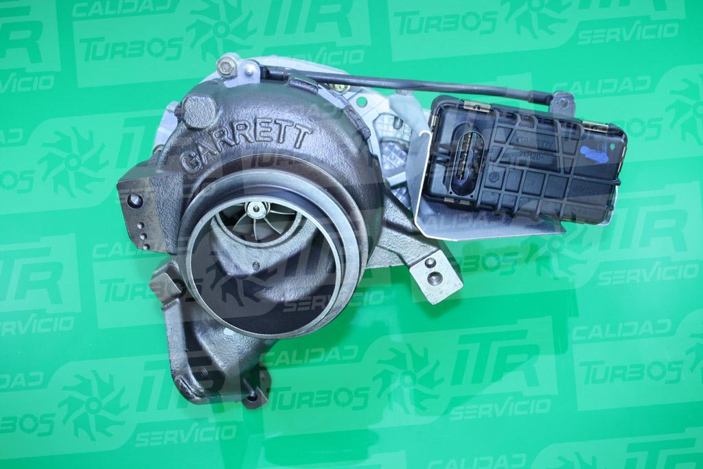 Turbo GARRETT 742693- (imagen 2)