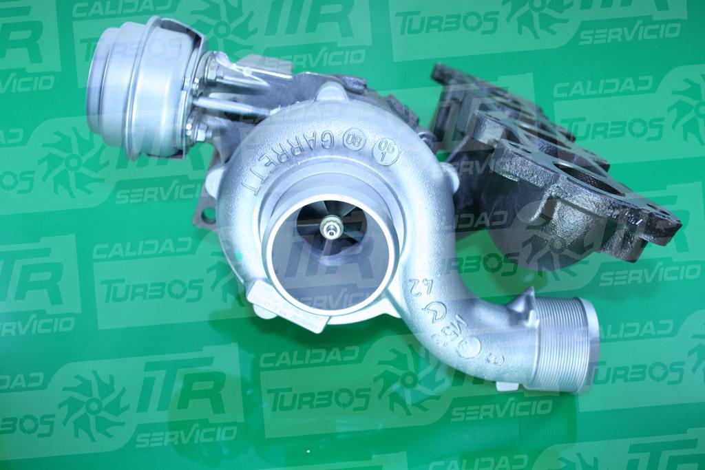Turbo GARRETT 755042- (imagen 2)