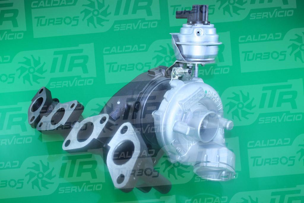 Turbo GARRETT 757042- (imagen 2)