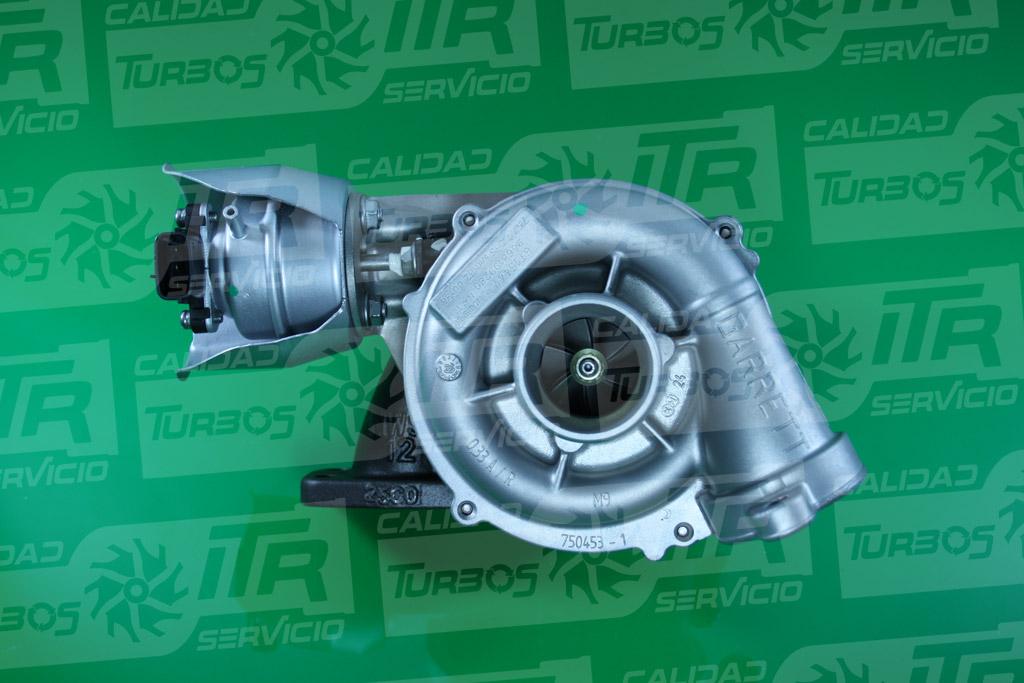 Turbo GARRETT 762328- (imagen 3)