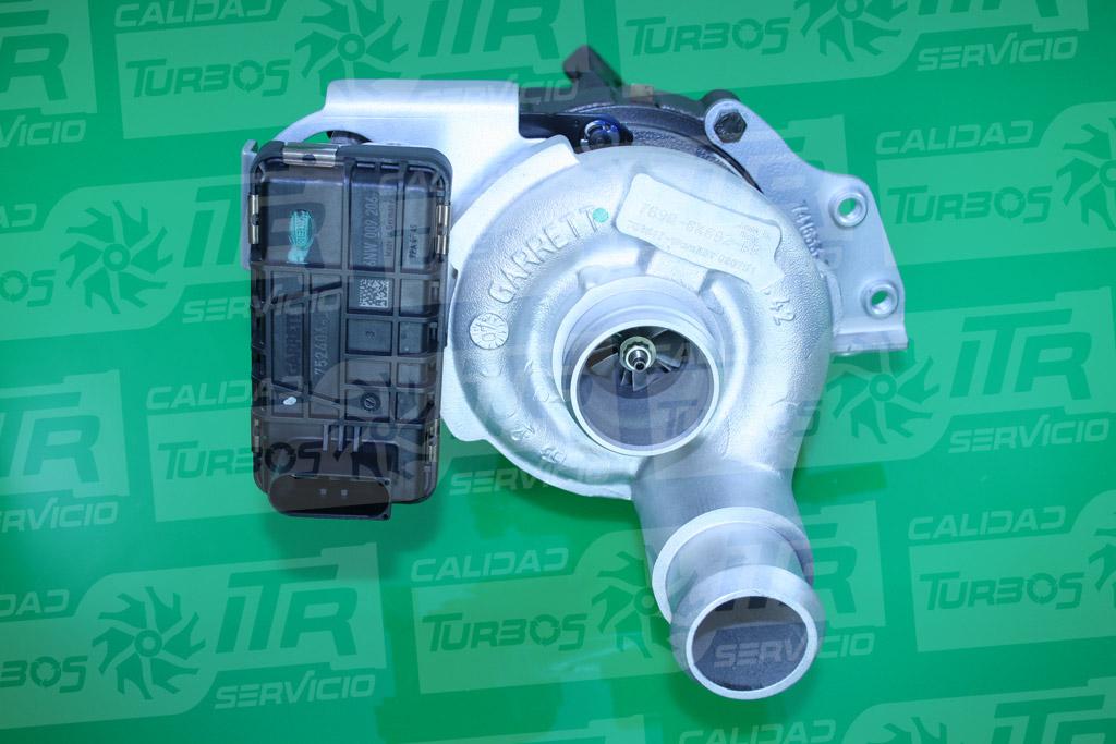 Turbo GARRETT 763647- (imagen 2)