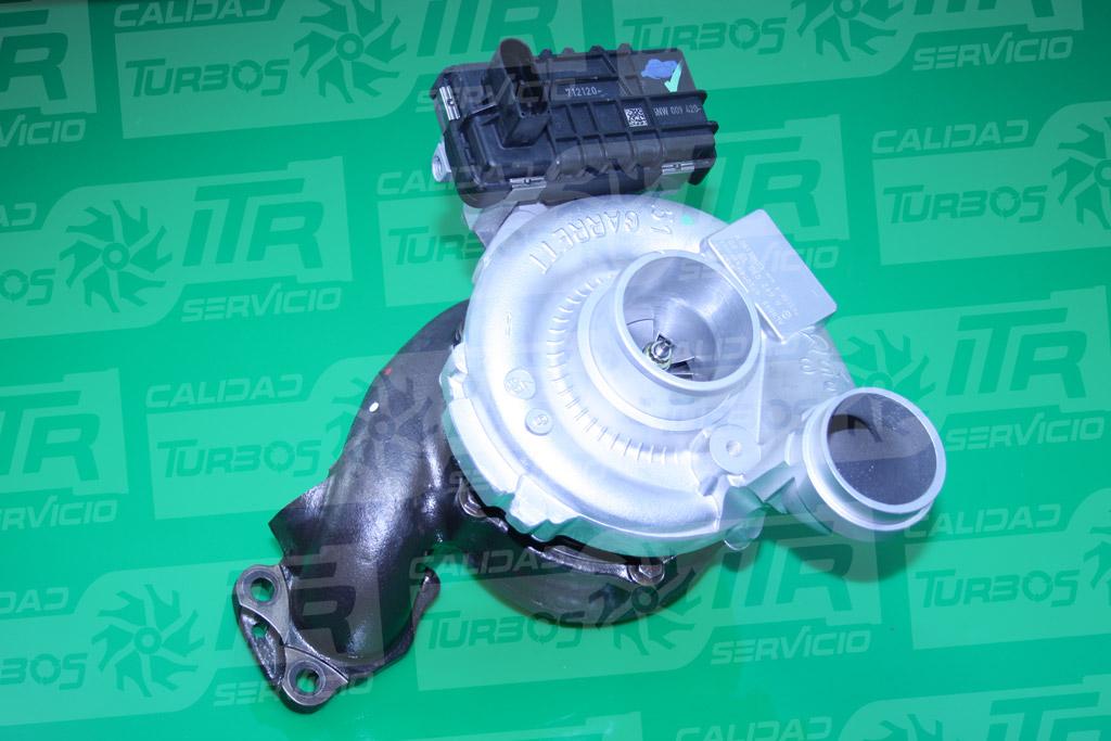 Turbo GARRETT 765156- (imagen 2)
