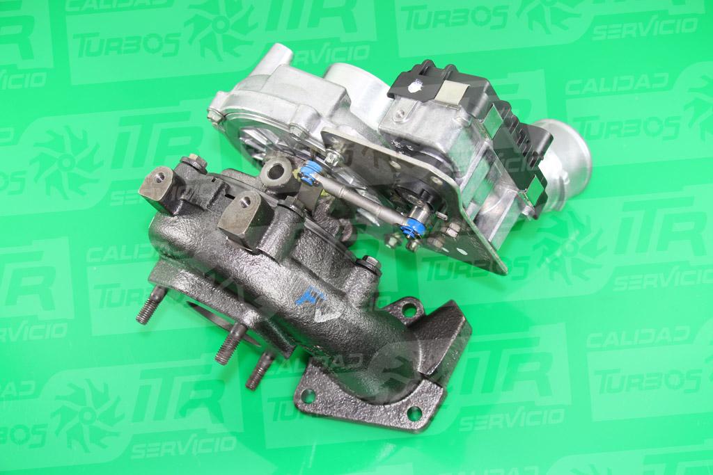 Turbo GARRETT 765314- (imagen 3)